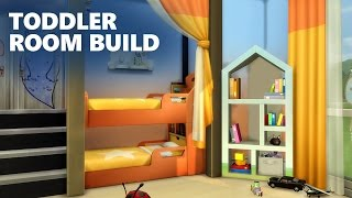 getlinkyoutube.com-The Sims 4 Room Building   QUADRUPLETS TODDLER BEDROOM
