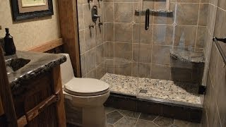 getlinkyoutube.com-Bathroom Remodeling with Barnwood