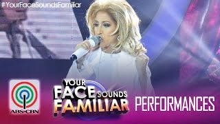 """Your Face Sounds Familiar: Jolina Magdangal as Celine Dion - """"Because You Loved Me"""""""