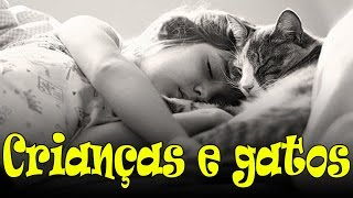 getlinkyoutube.com-Crianças e gatos. #57