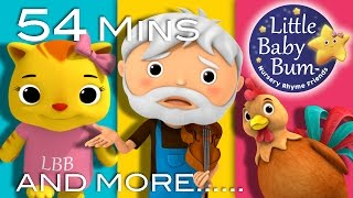 getlinkyoutube.com-Cock-A-Doodle-Doo | Plus Lots More Nursery Rhymes | 54 Minutes Compilation from LittleBabyBum!