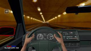 getlinkyoutube.com-Test Drive Unlimited - Vw Golf 2 GTI / VR6 Tunnel Fun HD