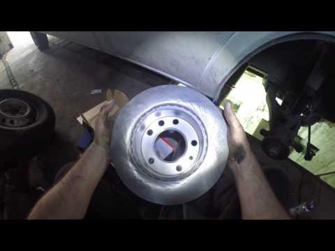Замена тормозных дисков- колодок и верхних апор амортизаторов Mersedes Sprinter