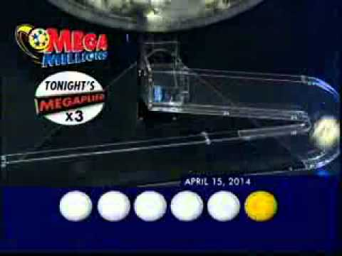 MegaMillions Results Winning Numbers 15th April 2014