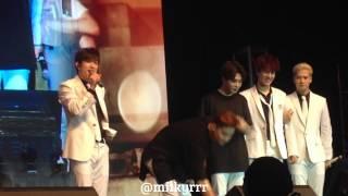 getlinkyoutube.com-[FANCAM] 151128 GOT7 1st Fanmeeting in Jakarta - 진영 singing Indonesian song ♥