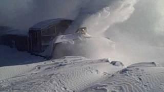 getlinkyoutube.com-BNSF Snow Blower in Aurora, NE