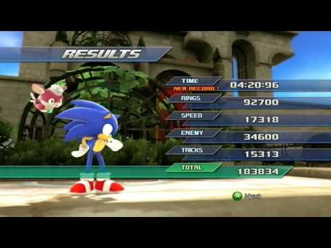 Sonic Unleashed: Rooftop Run (Act 1) - S-Rank