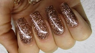 getlinkyoutube.com-♡ How to: All Glitter Gelnails