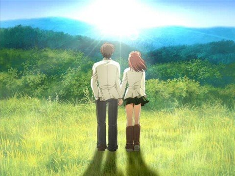 sad anime couples pictures. Fall For You - Anime Couples