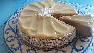 getlinkyoutube.com-بعد نجاح كيكة هنريس اليكم كيكة صاااابلي   5 دقائق للتحضير  رووووعة / cake sans farine/