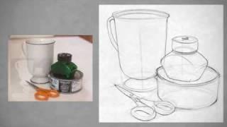 getlinkyoutube.com-Drawing Shape - Simple Still Life
