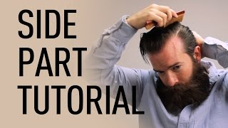 getlinkyoutube.com-Side Parted Men's Hairstyle | Jeff Buoncristiano