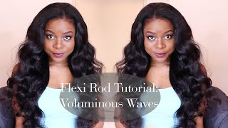 getlinkyoutube.com-FLEXI ROD TUTORIAL | Voluminous Waves