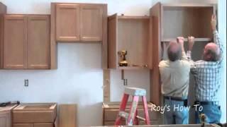 getlinkyoutube.com-Installing Kitchen Cabinets