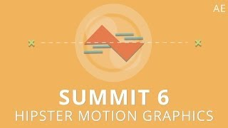 getlinkyoutube.com-Summit 6 - Hipster Motion Graphics - After Effects