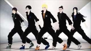 getlinkyoutube.com-【MMD】Rude Boy【NARUTO】