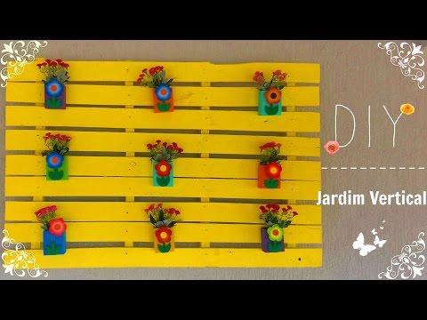 DIY: Jardim vertical com pallet