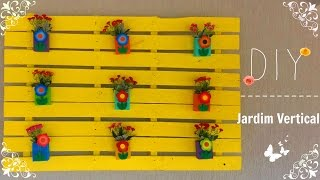getlinkyoutube.com-DIY: Jardim vertical com pallet