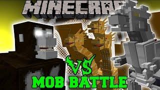 getlinkyoutube.com-KING KONG VS KING GHIDORAH & KIRYU (MECHAGODZILLA) - Minecraft Mob Battles - Mods
