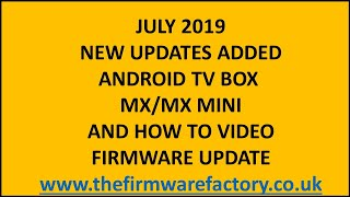 getlinkyoutube.com-MX FIRMWARE UPDATE / FIX VERSION *DOWNLOAD FIRMWARE ANDROID TV BOX LATEST OEM any questions email me