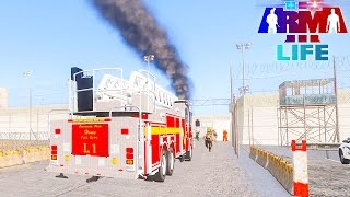 getlinkyoutube.com-Arma 3 Life Police #98 - Prison on Fire
