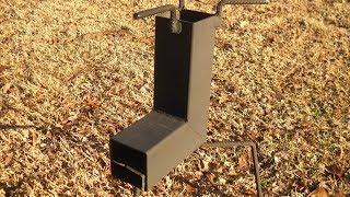 getlinkyoutube.com-Build A NICE Rocket Stove ~ For About 10 Bucks !