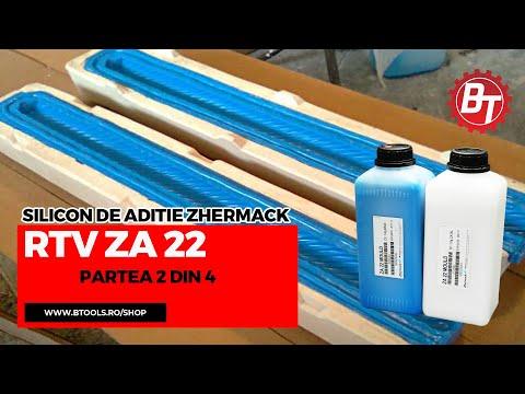 Realizare matrita flexibila din silicon RTV-ZA22 - Lumanare de botez - Partea 2 din 4