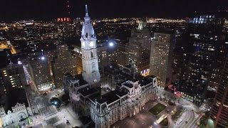 getlinkyoutube.com-EPIC Drone Night Flight over Philadelphia - DJI Phantom 3 Professional