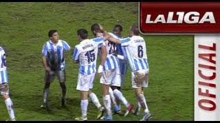 getlinkyoutube.com-Resumen de SD Eibar (1-1) Málaga CF - HD