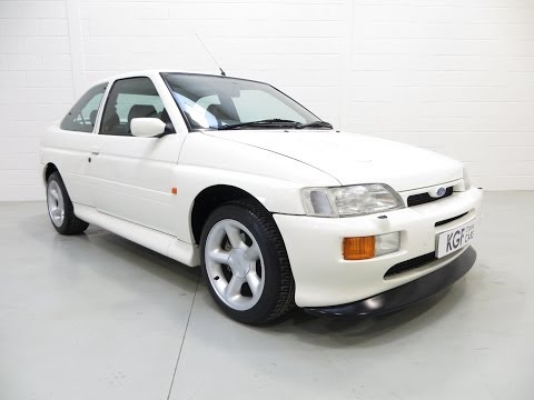 A Perfect Ford Escort RS Cosworth with Just 11,866 Miles and Two Owners from New - SOLD!