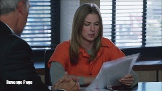 "getlinkyoutube.com-Revenge 4x22  Opening Scene Emily in Prison Uniform ""Plea"""