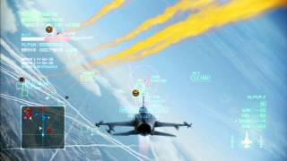 getlinkyoutube.com-Area B7R Dogfight Battle | F-20A | S Rank | Ace Combat Infinity Co-Op