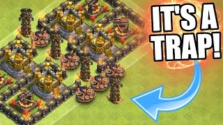 getlinkyoutube.com-Clash Of Clans | EPIC TOWN HALL 11 LOOT TROLL BASE!! | Valley Of Death 3.0 2016!