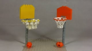 getlinkyoutube.com-How To Build: LEGO Basketball Hoop