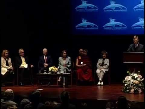 2009 Lantos Foundation Human Rights Prize- His Holiness the Dalai Lama, Part 3