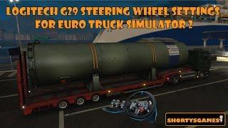 getlinkyoutube.com-Logitech G29 steering wheel settings for Euro Truck Simulator 2