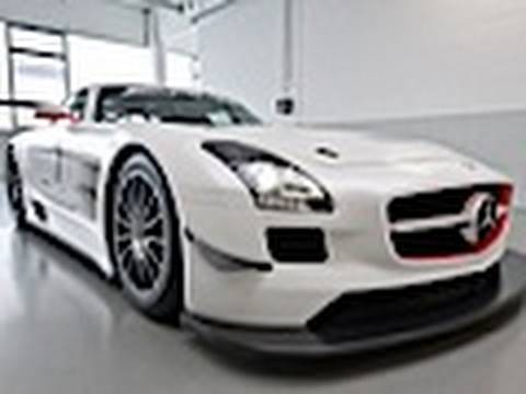 Mercedes-Benz SLS AMG GT3 debut at New York International Auto Show