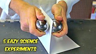 getlinkyoutube.com-5 Eazy Science Experiments You Can Do at Home