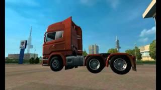 getlinkyoutube.com-[ETS2]Euro Truck Simulator 2 Patch 1.21.1 Cabine Tuning