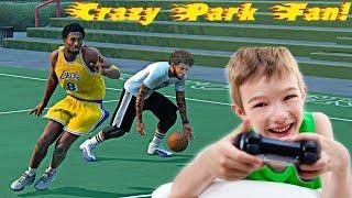getlinkyoutube.com-NBA 2k16 My Park -  FAN GOES CRAZY WHEN HE PLAYS AGAINST ME ON THE PARK   ENDING A 5 GAME WIN STREAK