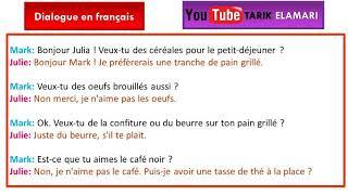 Dialogue en français Niveau A1 06