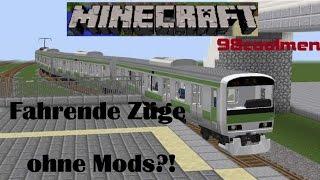 getlinkyoutube.com-Minecraft Züge ohne Mods!!!98coolmen