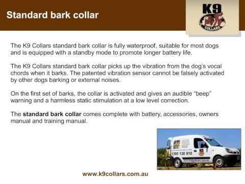 Get fast and effective training with K9 Collars remote dog training collar