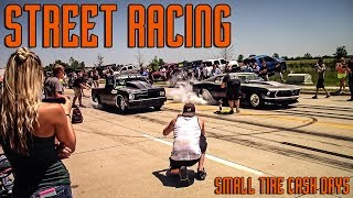 STREET-RACING-Small-Tire-Cash-Days-Twin-Turbo-Firebird-Mustang-2jz-Corolla-and-more width=