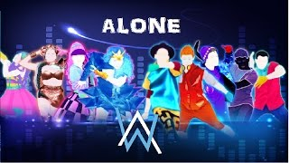 Just Dance 2018 - Alone by Alan Walker (Fanmade Mashup) [Theme: Boys Vs Girls]