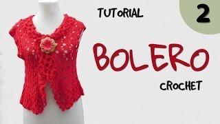 getlinkyoutube.com-Como tejer bolero a crochet en varios talles (2/2)