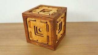 getlinkyoutube.com-The button box a puzzle box with 41 steps!