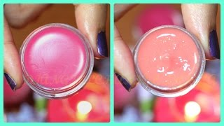getlinkyoutube.com-How to make your own Lip Balm at home  in 5 minutes for soft pink lips