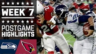 getlinkyoutube.com-Seahawks vs. Cardinals (Week 7) | Game Highlights | NFL