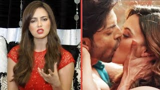 Sana Khan REACTS H0T And B0LD Scenes In Wajah Tum Ho Movie